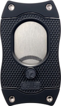 Colibri cigar cutter with serrated blades - Black
