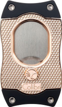 Colibri cigar cutter with serrated blades - Rose & Black