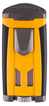 Xikar HP3 Triple Flame Jet Lighter - Burnt Yellow