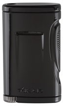 Xidris Single Jet Lighter - Jet Black