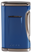 Xidris Single Jet Lighter - Cobalt Blue