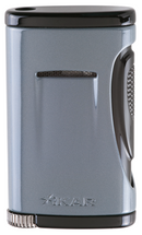 Xidris Single Jet Lighter - Slate Gray