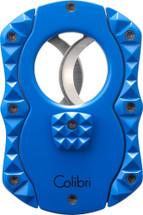 Colibri Quasar Cigar Cutter - Blue