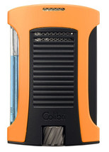 Colibri Daytona Single Jet Lighter - Orange & Black