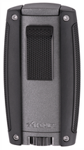 Xikar Turismo Double Jet Lighter - Matte Gray