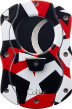 Colibri Camo Cigar Cutter - Red