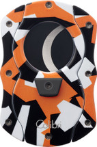 Colibri Camo Cigar Cutter - Orange
