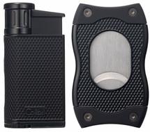 Colibri Evo + SV Cut  Gift Set - Black & Black