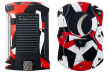 Colibri Daytona  Camo  + Cutter Gift set - Red