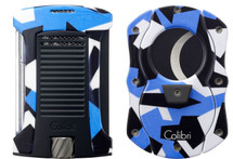 Colibri Daytona Camo + Cutter Gift set - Blue