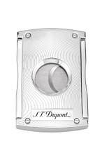 S.T Dupont Cigar Cutter - Maxijet Chrome Grey Vibrations