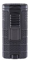 Xikar Tactical Triple Jet Lighter - Black