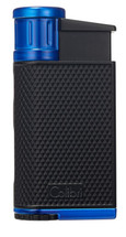 Colibri Evo Single Jet Lighter - Blue