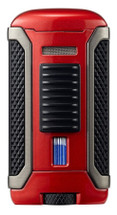 Colibri Apex Single Jet Lighter - Red