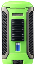 Colibri Apex Single Jet Lighter - Green