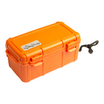 Cigar Caddy 15 Cigar Travel Humidor - Orange