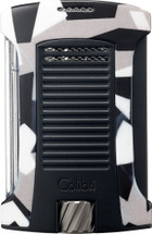 Colibri Daytona Camo  Single jet lighter- Charcoal