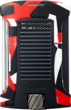 Colibri Daytona Camo  Single jet lighter- Red