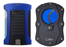Colibri Daytona + Colour blade Cutter Gift Set - Blue