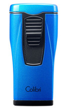 Colibri Monaco Triple Jet Lighter - Metallic Blue