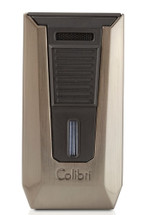 Colibri Slide Double Jet Lighter - Gunmetal & Matte Black