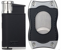 Colibri Evo + SV-Cut Gift Set - Black & Chrome
