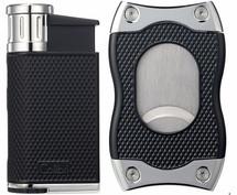 Colibri Evo + SV-Cut Gift Set - Black & Chrome
