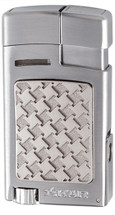 Xikar Forte Soft flame Lighter - Silver