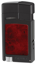 Xikar Forte Soft flame Lighter - Black & Burl