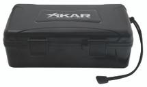 Xikar 10 Cigar Travel Humidor - Xikar Logo