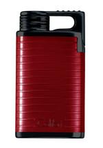 Colibri Belmont Single Jet Lighter - Red & Black