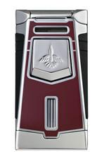 Colibri Empire Single Jet Lighter - Burgundy
