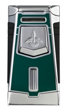 Colibri Empire Single Jet Lighter - Green