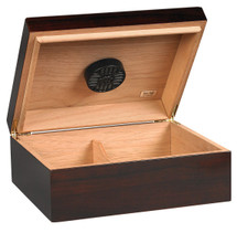 Capri Desktop Humidor - Dark Brown