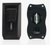 Colibri Slide + V Cut gift set - Black