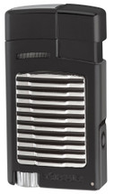 Xikar Forte Single Jet Lighter + Punch - Black