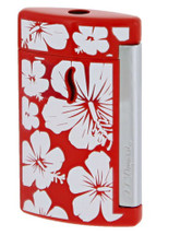 S.T. Dupont MiniJet Lighter - Hawaii Red