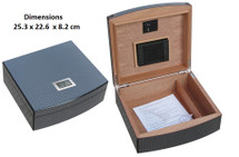 High Gloss Carbon Fibre Humidor