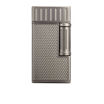 Colibri Julius Classic Double Flame Flint Lighter - Gunmetal