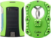 Colibri Daytona + Quasar Gift Set-  Green