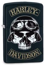 Zippo Harley Davidson - Black Matte