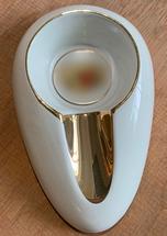 Small Single Cigar Ceramic Ashtray - Romeo Y Julieta