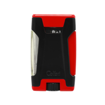 Colibri Rebel Double Jet Lighter - Red &  Black