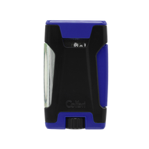 Colibri Rebel Double Jet Lighter - Blue &  Black