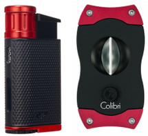 Colibri Evo + V Cut Gift set - Red