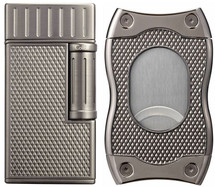 Colibri Julius & SV-Cut Gift Set - Gunmetal