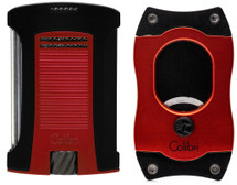 Colibri Daytona + S Cut Gift Set - Red