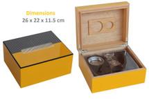 Desktop Gift Set Humidor - Cohiba Colours