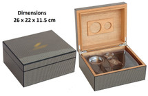 Desktop Gift Set Humidor - Cohiba Design