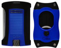 Colibri Daytona + S Cut Gift Set - Blue